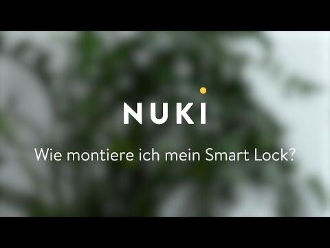 Nuki Smart Lock Montage/Installation auf deinem Türschloss