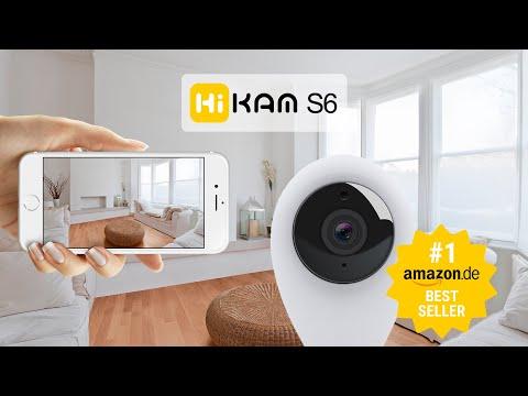 HiKam S6 Überwachungskamera für ein sicheres Zuhause.