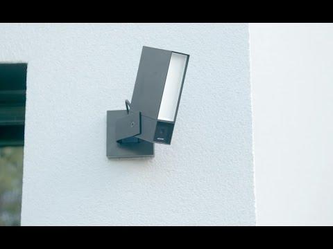 Installation von Netatmo Presence durch das Auswechseln eines bestehenden Außenlichts