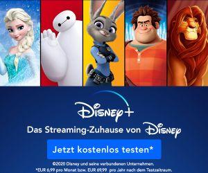 Disney+ testen