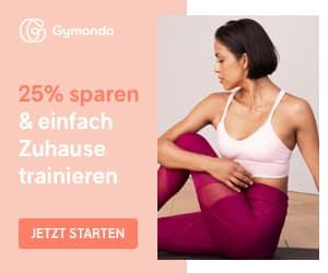 Gymondo Angebot 25% Rabatt