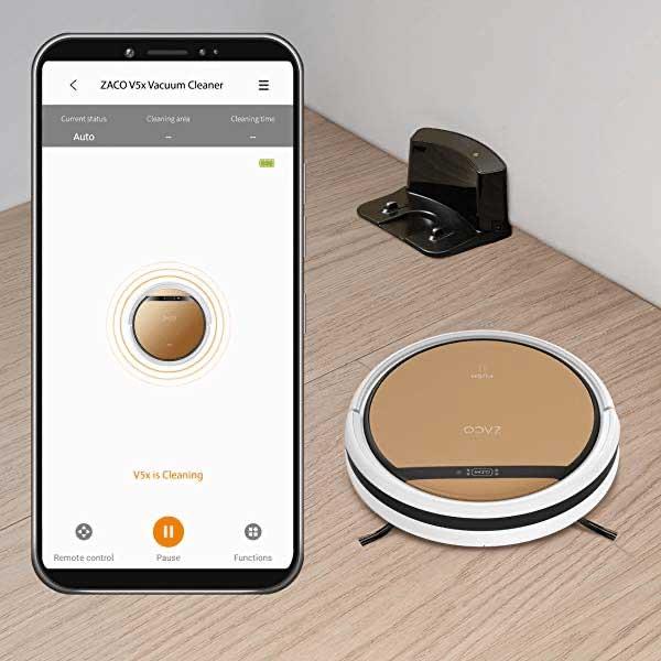 ZACO V5x WLAN App Alexa